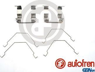 AUTOFREN SEINSA D42564A - Комплектующие, колодки дискового тормоза avtokuzovplus.com.ua