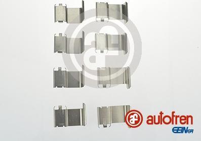 AUTOFREN SEINSA D42569A - Комплектующие, колодки дискового тормоза avtokuzovplus.com.ua