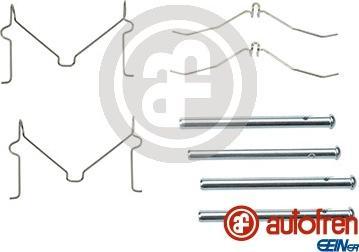 AUTOFREN SEINSA D42570A - Комплектующие, колодки дискового тормоза avtokuzovplus.com.ua