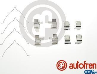 AUTOFREN SEINSA D42572A - Комплектующие, колодки дискового тормоза avtokuzovplus.com.ua