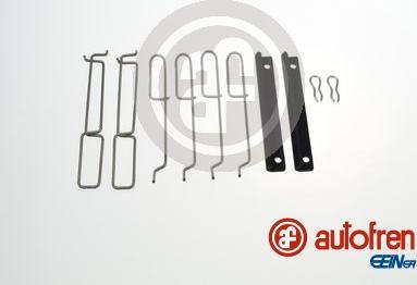 AUTOFREN SEINSA D42573A - Комплектующие, колодки дискового тормоза avtokuzovplus.com.ua