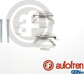 AUTOFREN SEINSA D42579A - Комплектующие, колодки дискового тормоза avtokuzovplus.com.ua