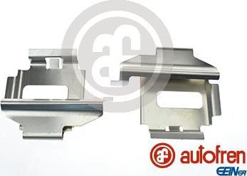AUTOFREN SEINSA D42580A - Комплектующие, колодки дискового тормоза avtokuzovplus.com.ua