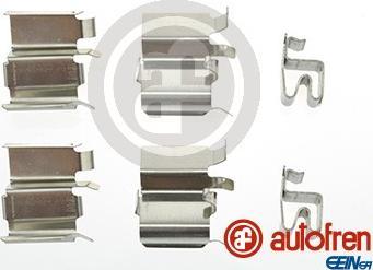 AUTOFREN SEINSA D42586A - Комплектующие, колодки дискового тормоза avtokuzovplus.com.ua
