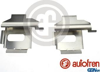 AUTOFREN SEINSA D42611A - Комплектующие, колодки дискового тормоза avtokuzovplus.com.ua