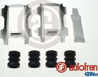AUTOFREN SEINSA D42612A - Комплектующие, колодки дискового тормоза avtokuzovplus.com.ua
