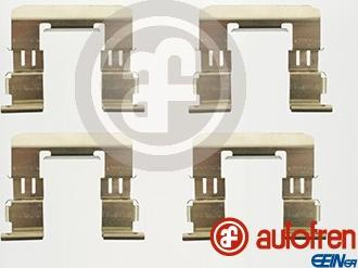AUTOFREN SEINSA D42615A - Комплектующие, колодки дискового тормоза avtokuzovplus.com.ua