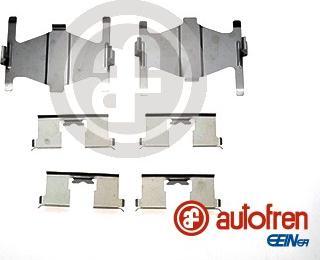 AUTOFREN SEINSA D42616A - Комплектующие, колодки дискового тормоза avtokuzovplus.com.ua