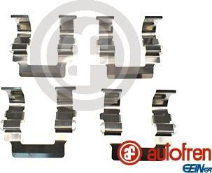 AUTOFREN SEINSA D42627A - Комплектующие, колодки дискового тормоза avtokuzovplus.com.ua