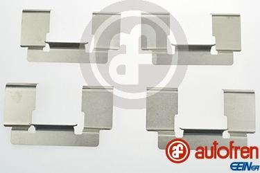 AUTOFREN SEINSA D42631A - Комплектующие, колодки дискового тормоза avtokuzovplus.com.ua