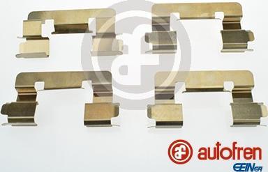 AUTOFREN SEINSA D42632A - Комплектующие, колодки дискового тормоза avtokuzovplus.com.ua