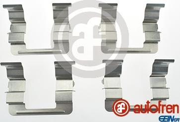 AUTOFREN SEINSA D42633A - Комплектующие, колодки дискового тормоза avtokuzovplus.com.ua