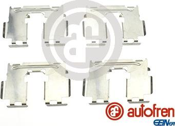 AUTOFREN SEINSA D42637A - Комплектующие, колодки дискового тормоза avtokuzovplus.com.ua