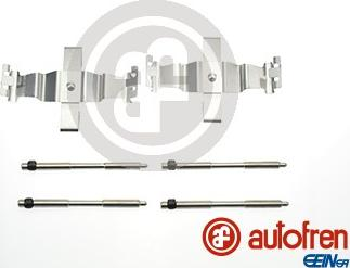 AUTOFREN SEINSA D42678A - Комплектующие, колодки дискового тормоза avtokuzovplus.com.ua