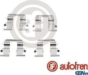 AUTOFREN SEINSA D42682A - Комплектующие, колодки дискового тормоза avtokuzovplus.com.ua