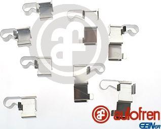 AUTOFREN SEINSA D42683A - Комплектующие, колодки дискового тормоза avtokuzovplus.com.ua