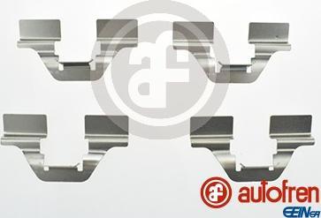 AUTOFREN SEINSA D42684A - Комплектующие, колодки дискового тормоза avtokuzovplus.com.ua