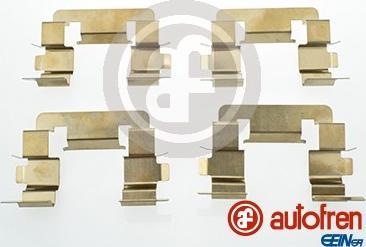 AUTOFREN SEINSA D42687A - Комплектующие, колодки дискового тормоза avtokuzovplus.com.ua