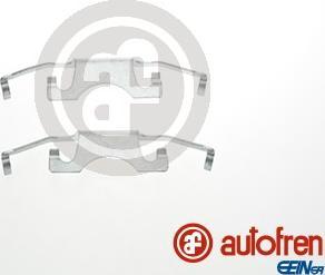 AUTOFREN SEINSA D42688A - Комплектующие, колодки дискового тормоза avtokuzovplus.com.ua