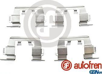AUTOFREN SEINSA D42690A - Комплектующие, колодки дискового тормоза avtokuzovplus.com.ua