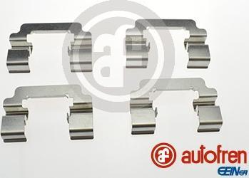 AUTOFREN SEINSA D42785A - Комплектующие, колодки дискового тормоза avtokuzovplus.com.ua