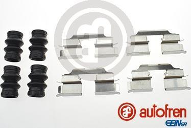 AUTOFREN SEINSA D42787A - Комплектующие, колодки дискового тормоза avtokuzovplus.com.ua