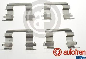 AUTOFREN SEINSA D42797A - Комплектующие, колодки дискового тормоза avtokuzovplus.com.ua