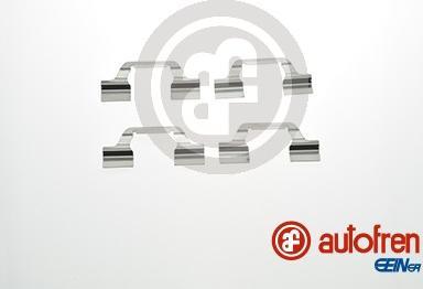 AUTOFREN SEINSA D42801A - Комплектующие, колодки дискового тормоза avtokuzovplus.com.ua
