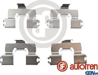 AUTOFREN SEINSA D42802A - Комплектующие, колодки дискового тормоза avtokuzovplus.com.ua