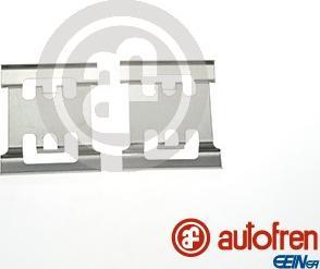 AUTOFREN SEINSA D42803A - Комплектующие, колодки дискового тормоза avtokuzovplus.com.ua