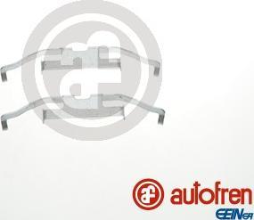 AUTOFREN SEINSA D42804A - Комплектующие, колодки дискового тормоза avtokuzovplus.com.ua