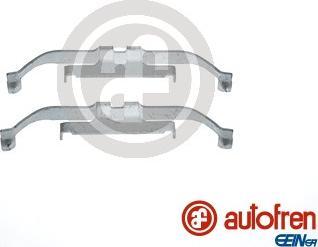 AUTOFREN SEINSA D42805A - Комплектующие, колодки дискового тормоза avtokuzovplus.com.ua