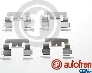 AUTOFREN SEINSA D42807A - Комплектующие, колодки дискового тормоза avtokuzovplus.com.ua