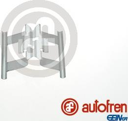 AUTOFREN SEINSA D42808A - Комплектующие, колодки дискового тормоза avtokuzovplus.com.ua
