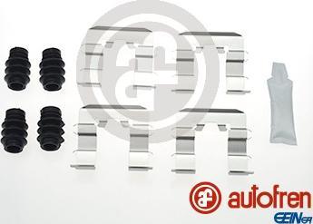 AUTOFREN SEINSA D42810A - Комплектующие, колодки дискового тормоза avtokuzovplus.com.ua