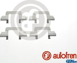 AUTOFREN SEINSA D42819A - Комплектующие, колодки дискового тормоза avtokuzovplus.com.ua