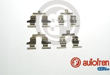AUTOFREN SEINSA D42822A - Комплектующие, колодки дискового тормоза avtokuzovplus.com.ua