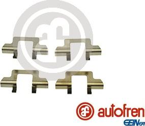 AUTOFREN SEINSA D42824A - Комплектующие, колодки дискового тормоза avtokuzovplus.com.ua
