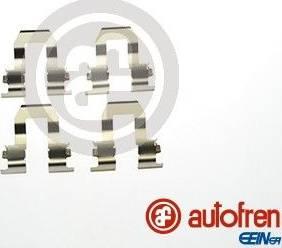 AUTOFREN SEINSA D42825A - Комплектующие, колодки дискового тормоза avtokuzovplus.com.ua