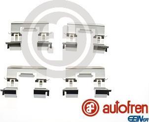 AUTOFREN SEINSA D42826A - Комплектующие, колодки дискового тормоза avtokuzovplus.com.ua