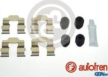 AUTOFREN SEINSA D42827A - Комплектующие, колодки дискового тормоза avtokuzovplus.com.ua