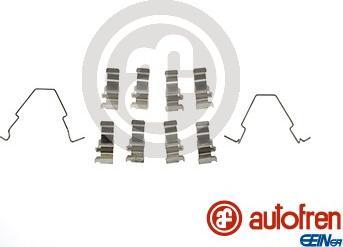 AUTOFREN SEINSA D42830A - Комплектующие, колодки дискового тормоза avtokuzovplus.com.ua