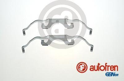 AUTOFREN SEINSA D42842A - Комплектующие, колодки дискового тормоза avtokuzovplus.com.ua