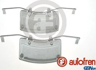 AUTOFREN SEINSA D42844A - Комплектующие, колодки дискового тормоза avtokuzovplus.com.ua
