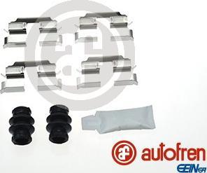 AUTOFREN SEINSA D42845A - Комплектующие, колодки дискового тормоза avtokuzovplus.com.ua