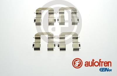AUTOFREN SEINSA D42846A - Комплектующие, колодки дискового тормоза avtokuzovplus.com.ua