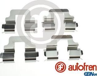 AUTOFREN SEINSA D42855A - Комплектующие, колодки дискового тормоза avtokuzovplus.com.ua