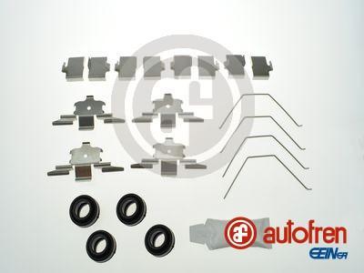 AUTOFREN SEINSA D42856A - Комплектующие, колодки дискового тормоза avtokuzovplus.com.ua
