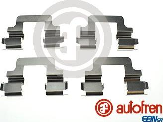 AUTOFREN SEINSA D42857A - Комплектующие, колодки дискового тормоза avtokuzovplus.com.ua
