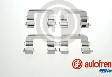 AUTOFREN SEINSA D42859A - Комплектующие, колодки дискового тормоза avtokuzovplus.com.ua